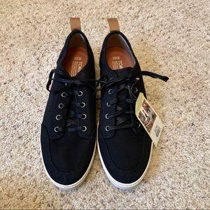 Men's Toms Black Oxlord Sneakers US 10.5